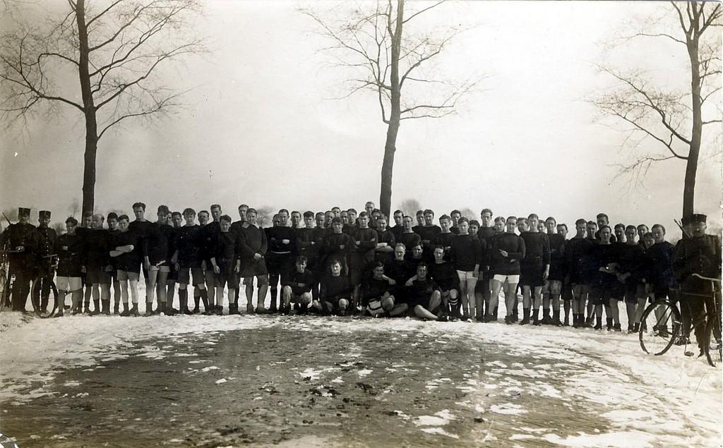 Royal Navy Brigade Club, Timbertown, 1915