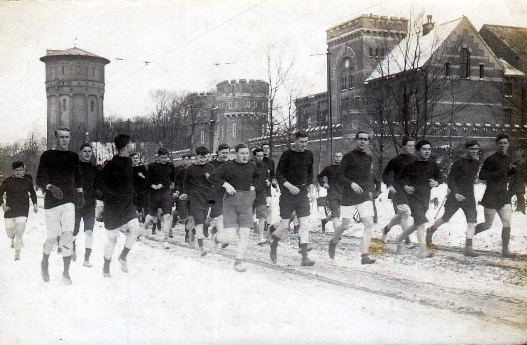 The Royal Naval Brigade Athletic Club, Timbertown, 1915
