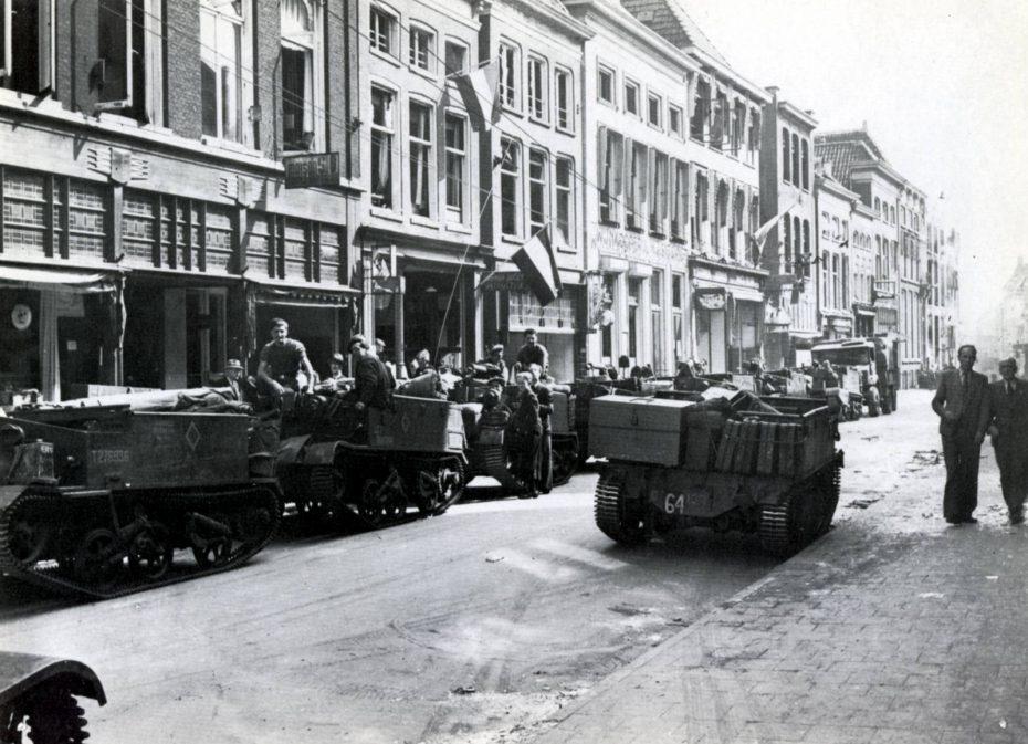 Oosterstraat, Groningen, 1945 (foto via Hans Zant)
