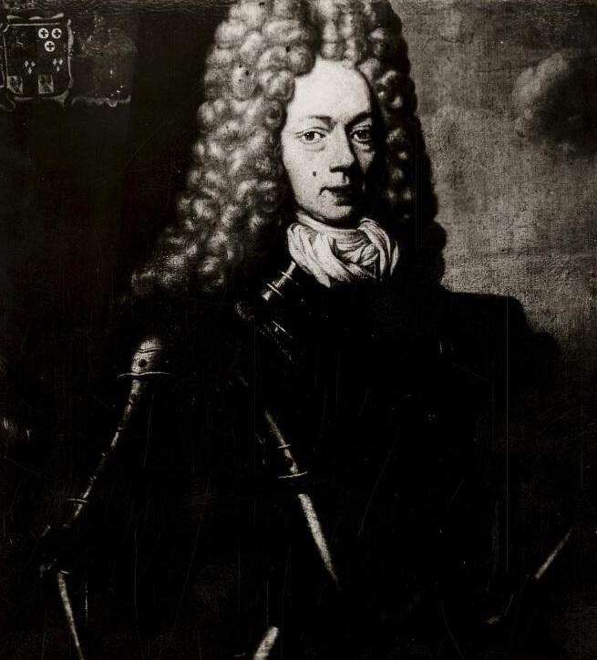 Johan Willem Ripperda in Spanje. Foto van een schilderij van Nicola de Largillière. Via Groninger Archieven.